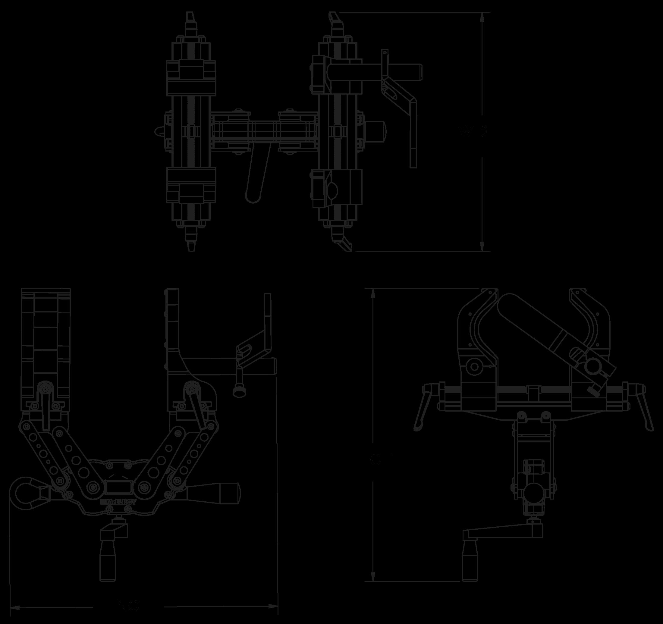 McElroy Spider™ 125 Fusion Machine
