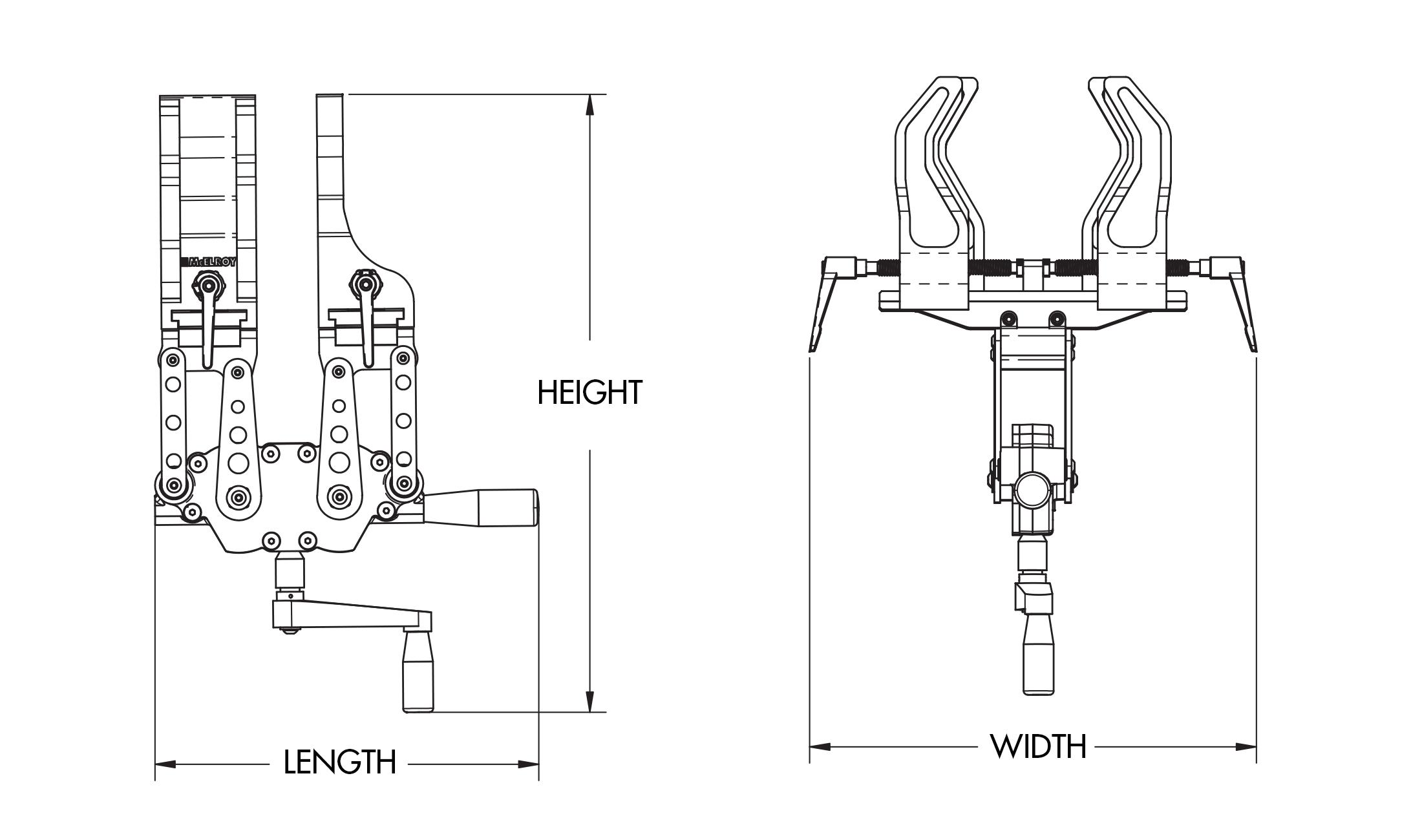 mcelroy spider u2122 125 fusion machine