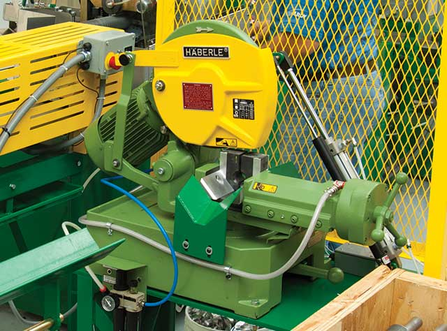 Power Fed Tube Saw System