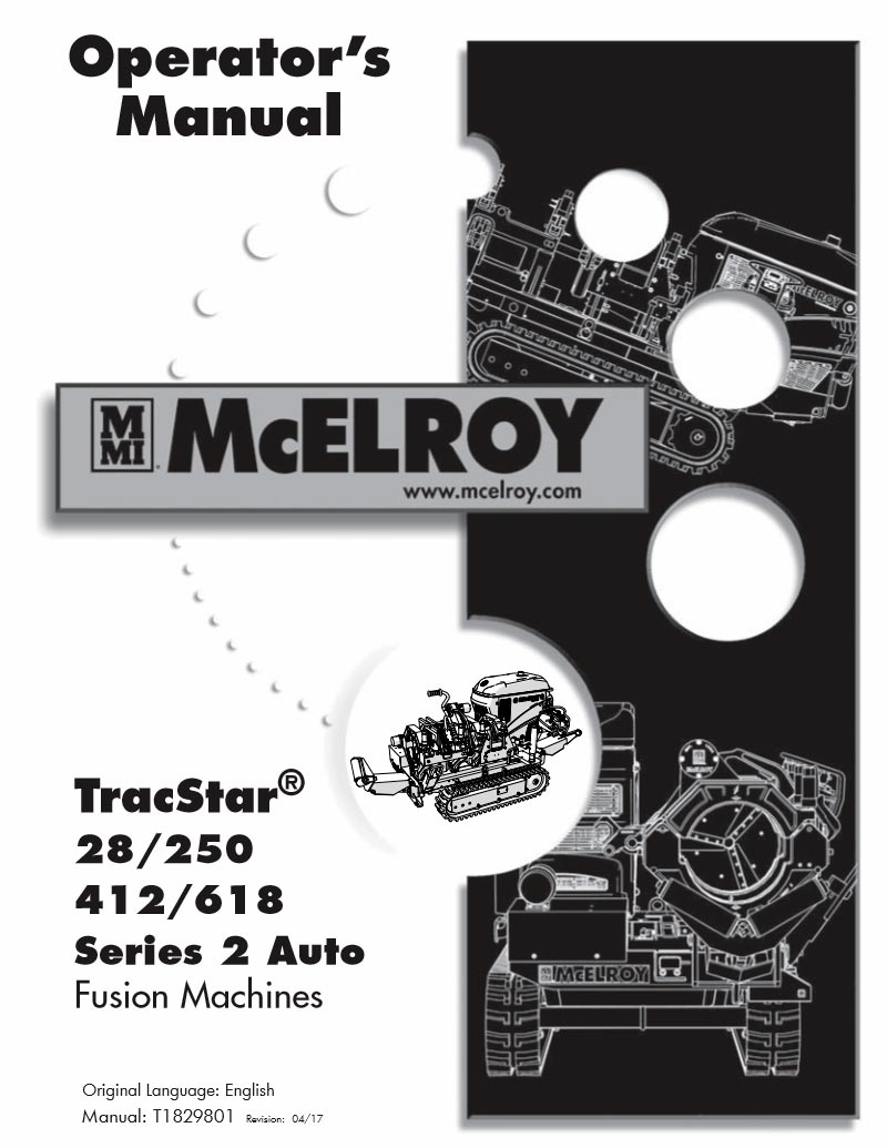 Mcelroy Tracstar 412 Fusion Machine Back Cabinet Diagram And Parts List For Porter Cable Generatorparts Series 2 Auto Product Manual