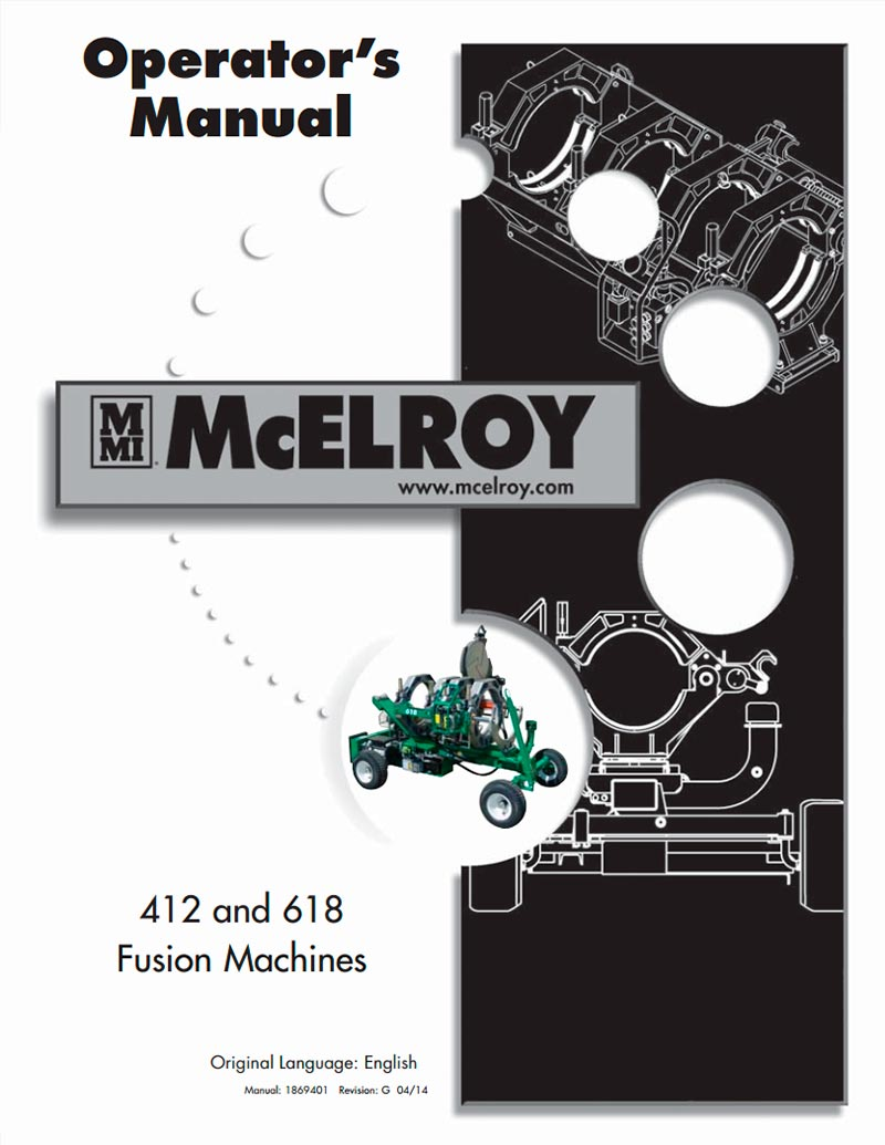 McElroy Rolling 618 Fusion Machine