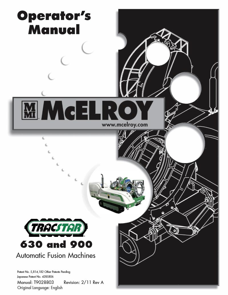 mcelroy fusion machine parts